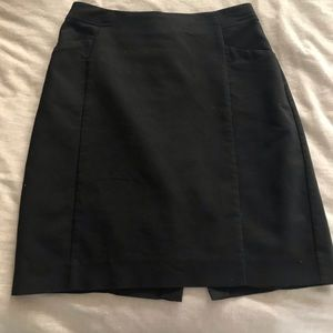 Black Business Professional Skirt with Pockets!